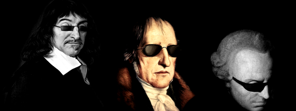 hegel.kant.descartes