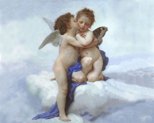 Bouguereau_first_kiss_mixed_by_herokdragon