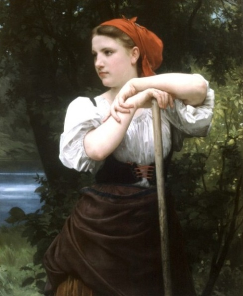 the-haymaker-1869-by-william-adolphe-bouguereau-art-gallery-oil-painting-reproductions